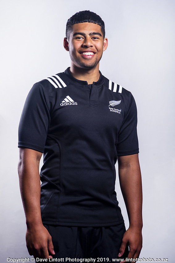 Gideon Wrampling (St Paul's Collegiate). 2019 New Zealand Schools rugby union headshots at the Sport & Rugby Institute in Palmerston North, New Zealand on Wednesday, 25 September 2019. Photo: Dave Lintott / lintottphoto.co.nz