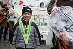 Agriculture Action: Resist Industrial Farming! Copenhagen, Dec. 15, 2009. (Images free for Editorial Web usage for Fresh Air Participants during COP 15. Credit: Robert vanWaarden)