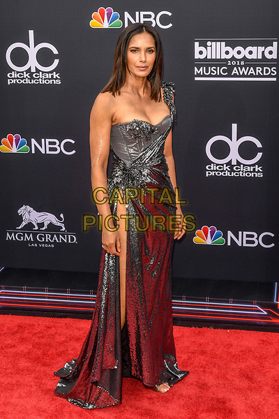 LAS VEGAS, NV - MAY 20: Padma Lakshmi at the 2018 Billboard Music Awards at the MGM Grand Garden Arena in Las Vegas, Nevada on May 20, 2018. <br /> CAP/MPI/DAM<br /> &copy;DAM/MPI/Capital Pictures