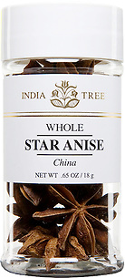 30902 Star Anise, Small Jar 0.65 oz, India Tree Storefront