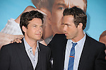 "WESTWOOD, CA - AUGUST 01: Jason Bateman and Ryan Reynolds attend ""The Change-Up"" Los Angeles Premiere at Regency Village Theatre on August 1, 2011 in Westwood, California."