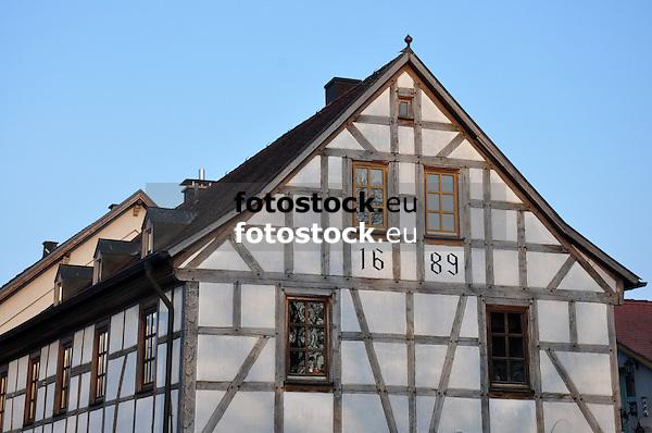 Fachwerkhaus in Hahnheim, 17. Jh.