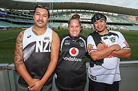 Fans await kickoff. Sydney Roosters v Vodafone Warriors, NRL Rugby League. Allianz Stadium, Sydney, Australia. 31st March 2018. Copyright Photo: David Neilson / www.photosport.nz