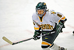8 February 2009: University of Vermont Catamounts' forward Molly Morrison, a Sophomore from South Burlington, VT, in action against the University of New Hampshire Wildcats in the second game of a weekend series at Gutterson Fieldhouse in Burlington, Vermont. The Wildcats defeated the lady Catamounts 6-2 to sweep the 2-game series. Mandatory Photo Credit: Ed Wolfstein Photo