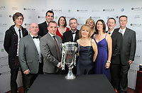Pictured: Brendan Rodgers with guests.<br />