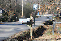 NWA Democrat-Gazette/DAVID GOTTSCHALK a section of the north side of McClinton Street is visible Wednesday, January 9, 2019, in Fayetteville. The city of Fayetteville plans to build more than 7,600 feet of sidewalk in the city this year. The stretch along McClinton Street from Wood Avenue to Morningside Drive, is the longest project on the list at 1,325 feet.