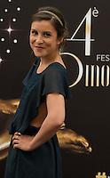 Flore Bonaventura attends 'La Source'  Photocall - 54th Monte-Carlo TV Festival - Monaco