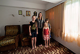 Kusiljevo village - Municipality of Svilajnac. Zivic family arrived in 1991 from Klina - KosovoAna Zivic (mother):?My mother still lives alone in Kosovo and I wish I had a bigger house to take her to live with us. My kids are already used to this environment. I work the land and I am glad to earn a living this way. We don't  want to come back, our life is now here in Serbia.?