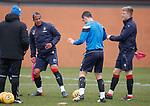 30.3.2018: Rangers training:<br /> Bruno Alves, Graham Dorrans and Ross McCrorie