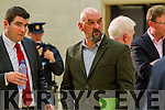 Michael Pixie O'Gorman at the Kerry General Election Count in Killarney.