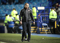 Bolton Wanderers' manager Phil Parkinson after his side had conceded a goal to Sheffield Wednesday<br /> <br /> Photographer Andrew Kearns/CameraSport<br /> <br /> The EFL Sky Bet Championship - Sheffield Wednesday v Bolton Wanderers - Tuesday 27th November 2018 - Hillsborough - Sheffield<br /> <br /> World Copyright &copy; 2018 CameraSport. All rights reserved. 43 Linden Ave. Countesthorpe. Leicester. England. LE8 5PG - Tel: +44 (0) 116 277 4147 - admin@camerasport.com - www.camerasport.com