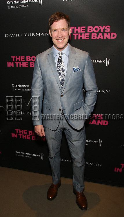 Brian Hutchison attends the 'The Boys In The Band' 50th Anniversary Celebration at The Second Floor NYC on May 30, 2018 in New York City.