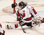Maggie DiMasi (NU - 4) - The Northeastern University Huskies defeated Boston College Eagles 4-3 to repeat as Beanpot champions on Tuesday, February 12, 2013, at Matthews Arena in Boston, Massachusetts.