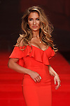 Singer/designer/reality personality Jessie James Decker walks runway in a red dress by Jay Godfrey, for the Red Dress Collection 2017 fashion show, for The American Heart Association, presented by Macy's at the Hammerstein Ballroom in New York City on February 9, 2017; during New York Fashion Week Fall 2017.
