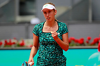 Elise Mertens, Belgium, during Madrid Open Tennis 2018 match. May 8, 2018.(ALTERPHOTOS/Acero) /NortePhoto.com