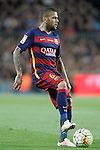 FC Barcelona's Dani Alves during La Liga match. April 2,2016. (ALTERPHOTOS/Acero)