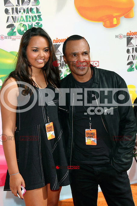 'Sugar' Ray Leonard at Nickelodeon's 25th Annual Kids' Choice Awards at The Galen Center on March 31, 2012 in Los Angeles, California. &copy; mpi26/MediaPunch Inc. /NortePhoto<br />