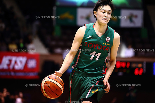 Naoki Uto (ALVARK), <br /> APRIL 17, 2016 - Basketball : <br /> National Basketball League &quot;NBL&quot; 2015-2016 <br /> between TOYOTA ALVARK TOKYO 87-78  Chiba Jets <br /> at 2nd Yoyogi Gymnasium, Tokyo, Japan. <br /> (Photo by AFLO SPORT)