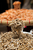 PHILIPPINES, Manila, Qulapo District, dried fish for sale at the Quina Market