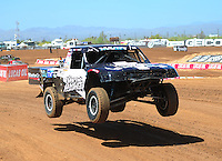 Apr 15, 2011; Surprise, AZ USA; LOORRS driver Jeremy Stenberg (88) during round 3 and 4 at Speedworld Off Road Park. Mandatory Credit: Mark J. Rebilas-.