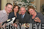 Pictured enjoying the french for All Christmas evening in The Malton on Thursday were Damien Courtney, Helene Olivier Courtney, John Fitzgerald, The Malton and Miriam O'Sullivan Long.   Copyright Kerry's Eye 2008