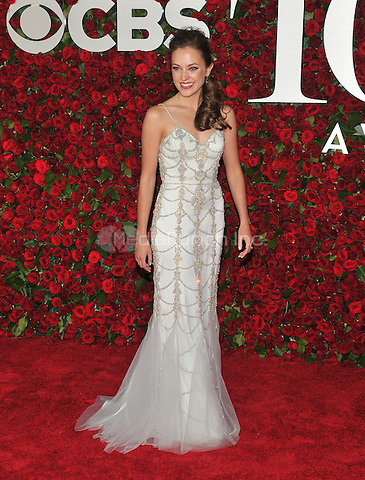 NEW YORK, NY - JUNE 12: Laura Osnes at the 70th Annual Tony Awards at The Beacon Theatre on June 12, 2016 in New York City. Credit: John Palmer/MediaPunch