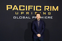 "LOS ANGELES - FEB 21:  Charlie Day at the ""Pacific Rim Uprising"" Premiere at the TCL Chinese Theater IMAX on February 21, 2018 in Los Angeles, CA"