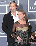 Jeff Bridges & wife at The 52nd Annual GRAMMY Awards held at The Staples Center in Los Angeles, California on January 31,2010                                                                   Copyright 2009  DVS / RockinExposures