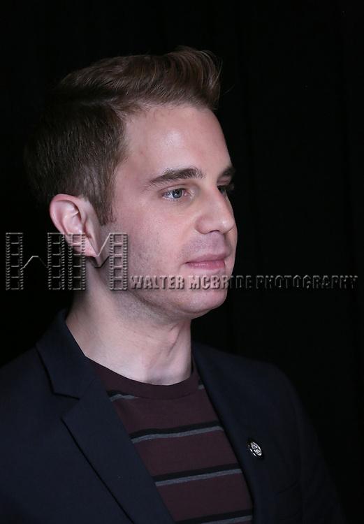 Ben Platt attends the 2017 Tony Awards Meet The Nominees Press Junket at the Sofitel Hotel on May 3, 2017 in New York City.
