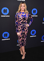 HOLLYWOOD, CA - JANUARY 18:  Kirbie Johnson at the Freeform Summit at NeueHouse on January 18, 2018 in Hollywood, California. (Photo by Scott Kirkland/PictureGroup)