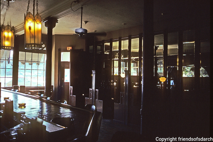 St. Louis: Park Place Saloon--Interior. Lafayette St. Photo '78.