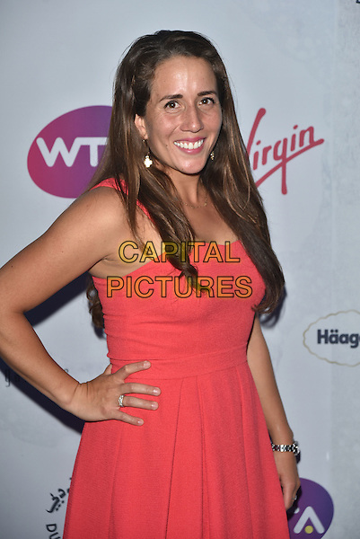 Irina Falconi at WTA pre-Wimbledon Party at The Roof Gardens, Kensington on june 23rd 2016 in London, England.<br /> CAP/PL<br /> &copy;Phil Loftus/Capital Pictures
