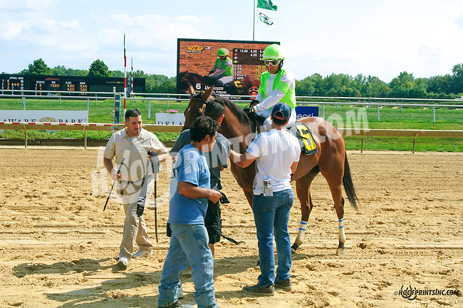 Unlocked winning at Delaware Park on 9/5/15