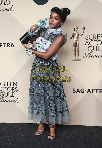29 January 2017 - Los Angeles, California - Janelle Monae. 23rd Annual Screen Actors Guild Awards held at The Shrine Expo Hall. <br /> CAP/ADM/FS<br /> &copy;FS/ADM/Capital Pictures