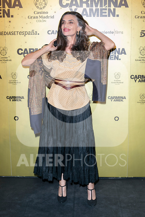 "Spanish actress Angela Molina attend the Premiere of the movie ""Carmina y Amen"" at the Callao Cinema in Madrid, Spain. April 28, 2014. (ALTERPHOTOS/Carlos Dafonte)"