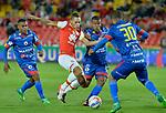 Independiente Santa Fe venció como local 1-0 a Deportivo Pasto. Fecha 12 Liga Águila II-2017.