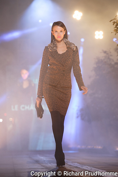 Le Chateau fall-winter collection  fashion show in Montreal
