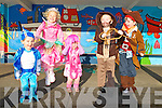 JUMPING FOR JOY: Junior Infant students at Tralee CBS who dressed up for Halloween on Friday l-r: Conor Bradshaw, Veronica Pacuska, Hayley Lynch, Jack Trant and Enda Cahill..   Copyright Kerry's Eye 2008