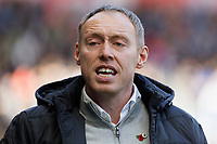 Swansea City manager Steve Cooper in action during the Sky Bet Championship match between Swansea City and Cardiff City at the Liberty Stadium, Swansea, Wales, UK. Sunday 27 October 2019