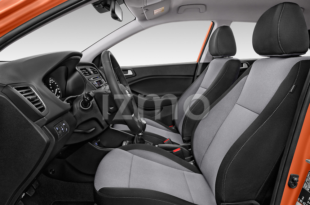 Front seat view of 2016 Hyundai i20 ACTIVE Pop 5 Door Hatchback Front Seat  car photos