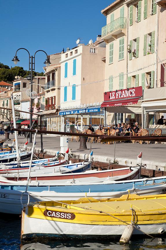France, Bouches-du-Rhône (13), Cassis, le port // France, Bouches du Rhone, Cassis, the harbour