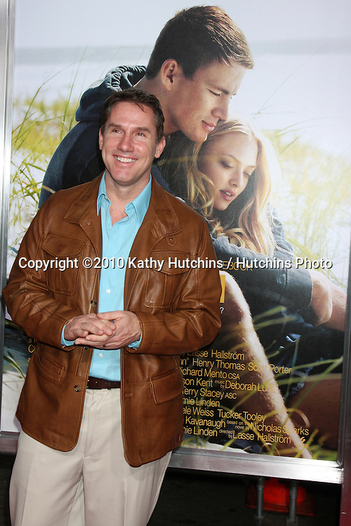 """Nicholas Sparks.arriving at the """"Dear John"""" Premiere.Grauman's Chinese Theater.Los Angeles, CA.February 1, 2010.©2010 Kathy Hutchins / Hutchins Photo...."""