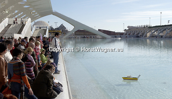 Valencia-Spain, 30 December 2007---Ciudad de las Artes y las Ciencias (City of Arts and Sciences / Ciutat des les Arts i les Ciencies) designed by local architect Santiago Calatrava; architecture---Photo: © HorstWagner.eu