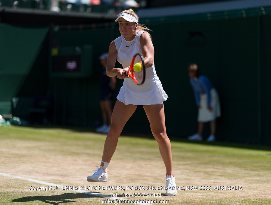 ELINA SVITOLINA (UKR)<br /> <br /> TENNIS - THE CHAMPIONSHIPS - WIMBLEDON- ALL ENGLAND LAWN TENNIS AND CROQUET CLUB - ATP - WTA -ITF - WIMBLEDON-SW19, LONDON, GREAT  BRITAIN- 2017  <br /> <br /> <br /> &copy; TENNIS PHOTO NETWORK