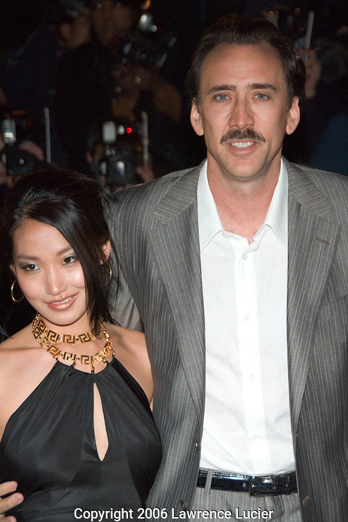 Nic Cage and wife