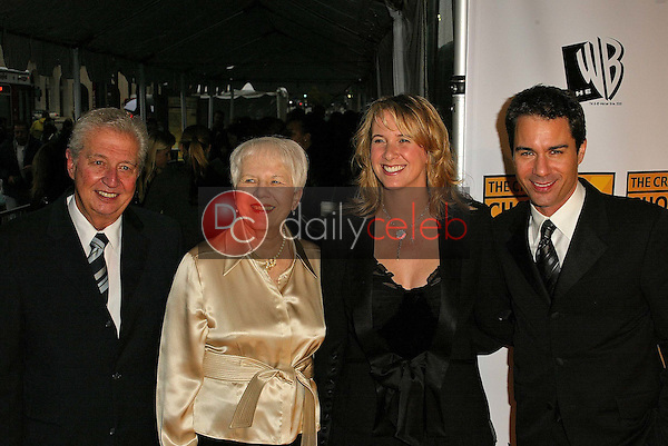Eric McCormack with parents and wife Janet