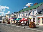Suwałki, (woj. podlaskie) 09.07.2014. Ulica Sejneńska.