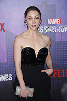 NEW YORK, NY - MARCH 7: Leah Gibson  at Marvel&rsquo;s Jessica Jones Season 2 Premiere at  AMC Loews Lincoln Square on March 7, 2018 in New York City. <br /> CAP/MPI99<br /> &copy;MPI99/Capital Pictures