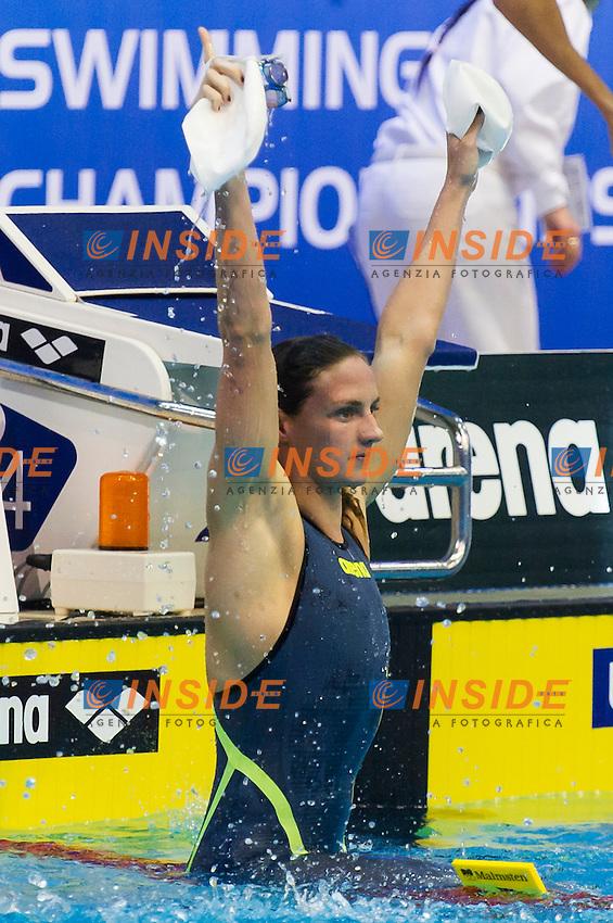 HOSSZU Katinka HUN New World Record<br /> Women's 400m medley heats<br /> Netanya, Israel, Wingate Institute<br /> LEN European Short Course Swimming Championships  Dec. 2 - 6, 2015 Day01 Dec. 2nd<br /> Nuoto Campionati Europei di nuoto in vasca corta<br /> Photo Giorgio Perottino/Deepbluemedia/Insidefoto