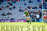 Diarmuid O'Connor Kerry in action against  Derry in the All-Ireland Minor Footballl Final in Croke Park on Sunday.